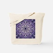 romantic bohemian purple mandala Tote Bag