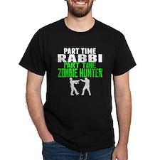 Rabbi Part Time Zombie Hunter T-Shirt