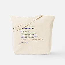 Eat, Sleep, and Code Repeatedly Tote Bag