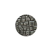 Textured Space Tiles Mini Button
