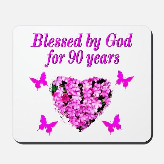 CHRISTIAN 90 YR OLD Mousepad