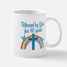 CHRISTIAN 90 YR OLD Mug