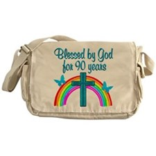 CHRISTIAN 90 YR OLD Messenger Bag