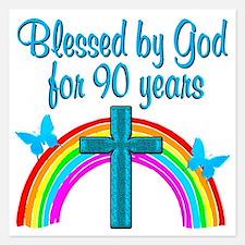 CHRISTIAN 90 YR OLD Invitations