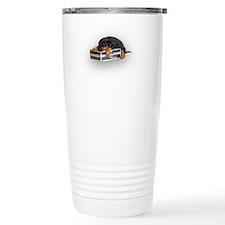 Puppy Suitcase Travel Mug
