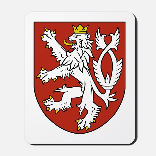 Coat of Arms czechoslovakia Mousepad