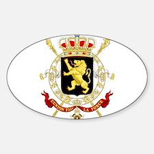 Coat of Arms Belgium Decal
