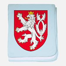 Coat of Arms czechoslovakia baby blanket