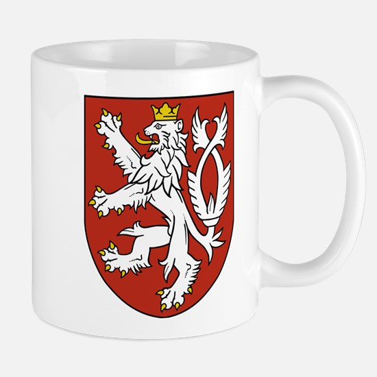 Coat of Arms czechoslovakia Mugs