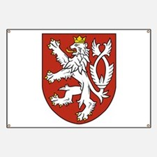 Coat of Arms czechoslovakia Banner