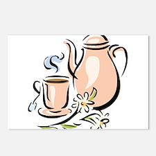 Tea Postcards (Package of 8)