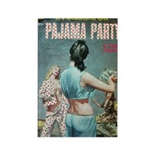 Pajama Party Rectangle Magnet
