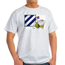 Cute Bulldog support T-Shirt