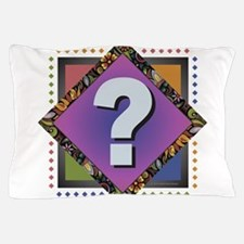 Cool Rainbow squares Pillow Case