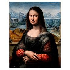 Mona Lisa - Prado (the first Mona Lisa) Poster