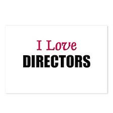 I Love DIRECTORS Postcards (Package of 8)
