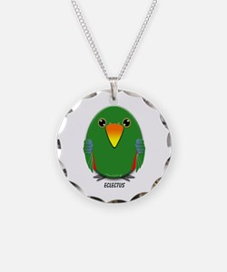 Male Eclectus Parrot Necklace