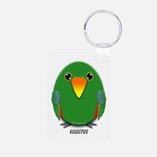 Male Eclectus Parrot Keychains