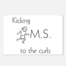 Kicking MS to the curb - Postcards (Package of 8)