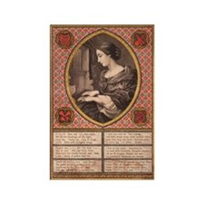 Victorian Prayer Rectangle Magnet