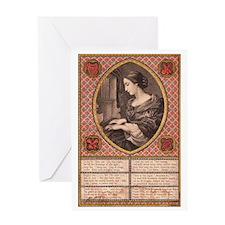 Victorian Prayer Greeting Card
