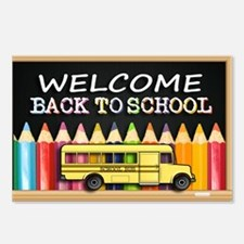 WELCOME BACK TO SCHOOL BU Postcards (Package of 8)