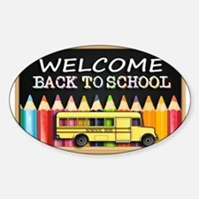 WELCOME BACK TO SCHOOL BUS Decal
