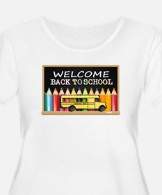 WELCOME BACK TO SCHOOL BUS Plus Size T-Shirt