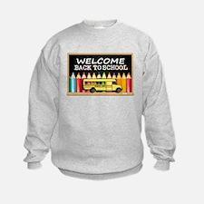 WELCOME BACK TO SCHOOL BUS Sweatshirt