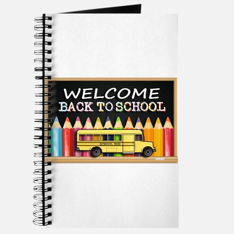 WELCOME BACK TO SCHOOL BUS Journal