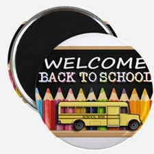 WELCOME BACK TO SCHOOL BUS Magnets