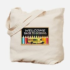 WELCOME BACK TO SCHOOL BUS Tote Bag