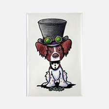 Steampunk Brittany Rectangle Magnet