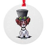 Steampunk Round Ornament