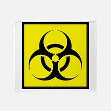 Biohazard Throw Blanket