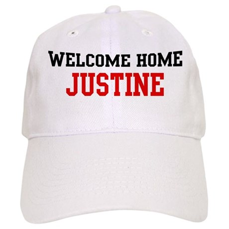 Welcome home JUSTINE Cap