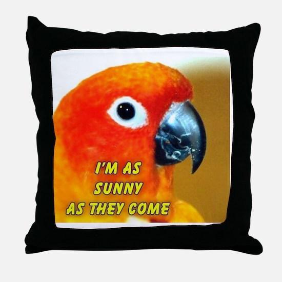 LUCKY Throw Pillow
