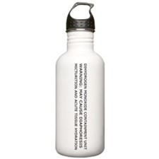 Dihydrogen Monoxide Water Bottle