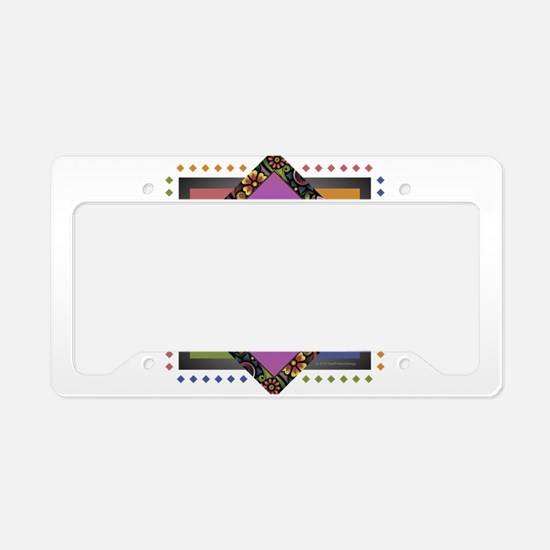 Funny Alicia License Plate Holder