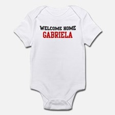 Welcome home GABRIELA Infant Bodysuit