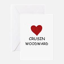 LOVE CRUSIN WOODWARD Greeting Card