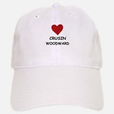 LOVE CRUSIN WOODWARD Baseball Baseball Cap
