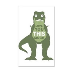 I love you this much Wall Decal