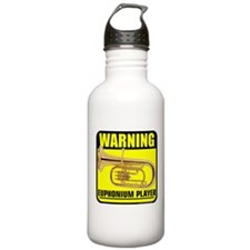 2-caution euphonium player.png Water Bottle