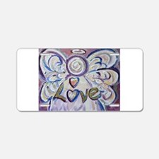 Love Angel Aluminum License Plate