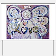 Love Angel Yard Sign