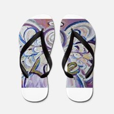 Love Angel Flip Flops