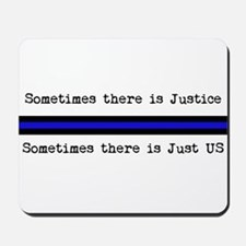 Justice_Just Us Mousepad