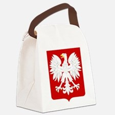 Arms of Poland Canvas Lunch Bag