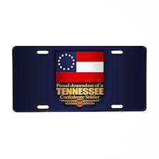 Tennessee Proud Descendant Aluminum License Plate